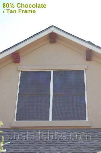 Austin TX Window Sun Shade Screens aka Solar Window Screens