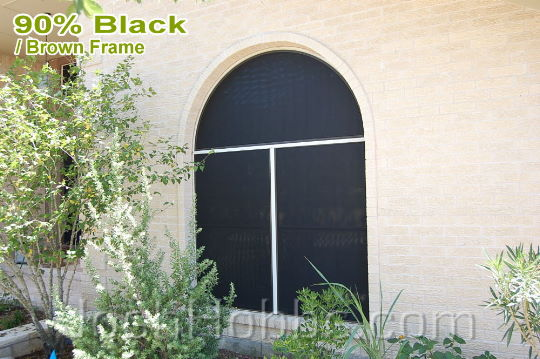 Pflugerville TX Sun Screens aka Solar Window Screens