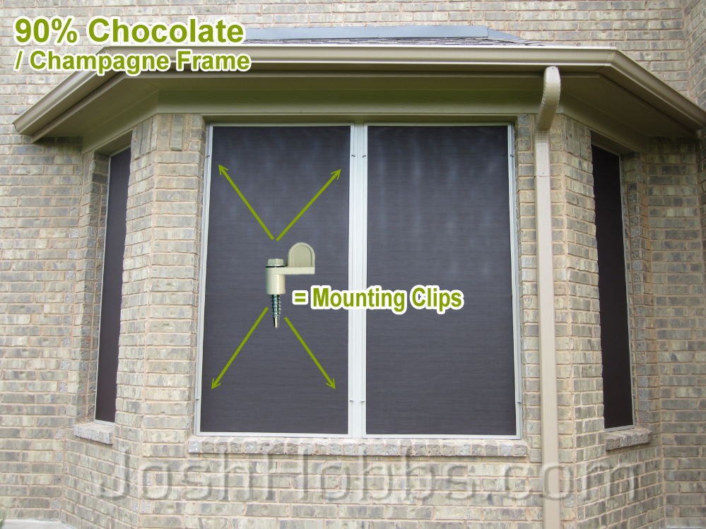 Teravista Round Rock TX Solar Screen Installation